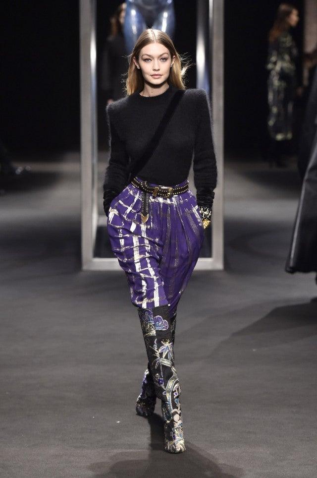 078bbb059 Gigi Hadid Dominates Milan Fashion Week Runways See Her Fierce
