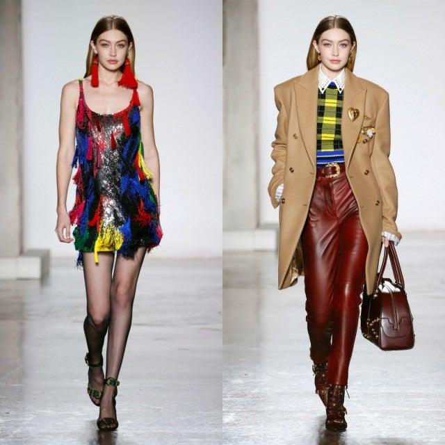 Gigi Hadid Dominates Milan Fashion Week Runways -- See Her ...