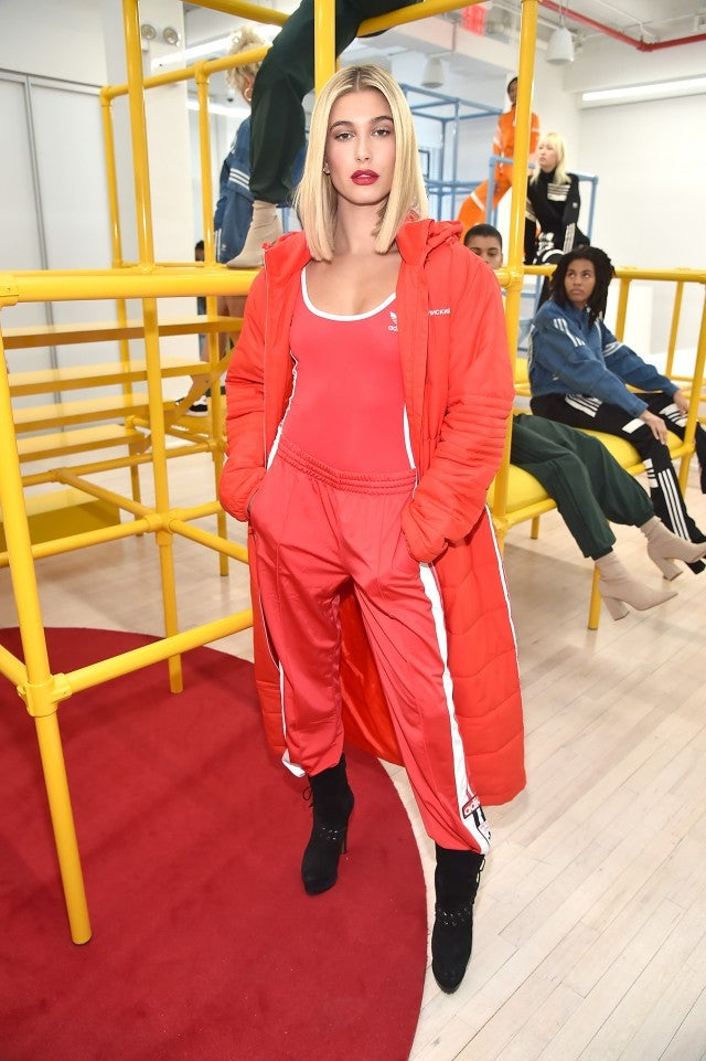 Hailey Baldwin at Adidas