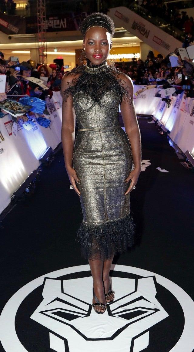 Lupita Nyong O S Best Black Panther Fashion Looks