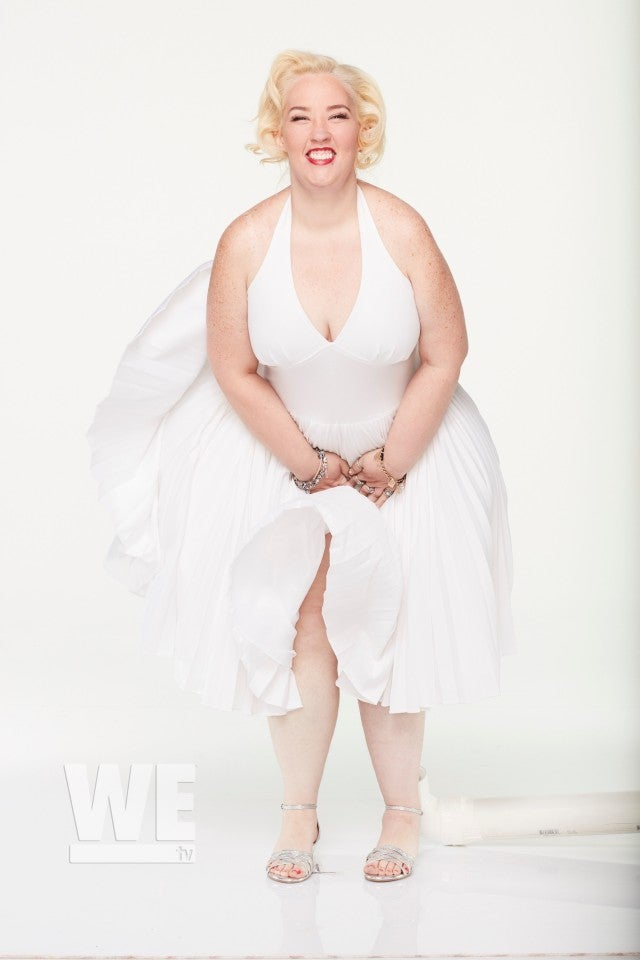 Mama June Channels Marilyn Monroe in Iconic White Halter ...
