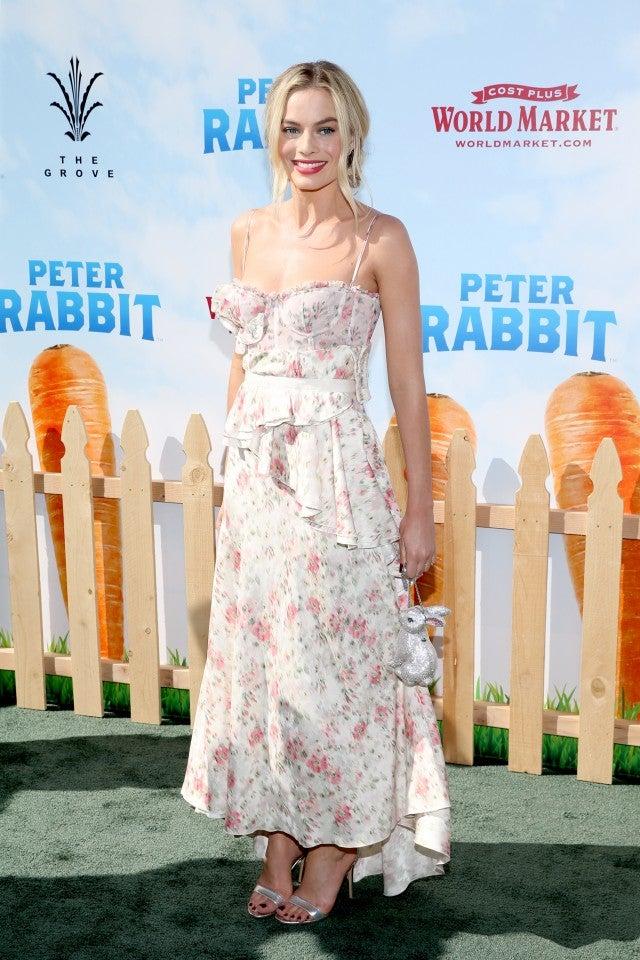 Margot  Robbie Peter Rabbit Premiere