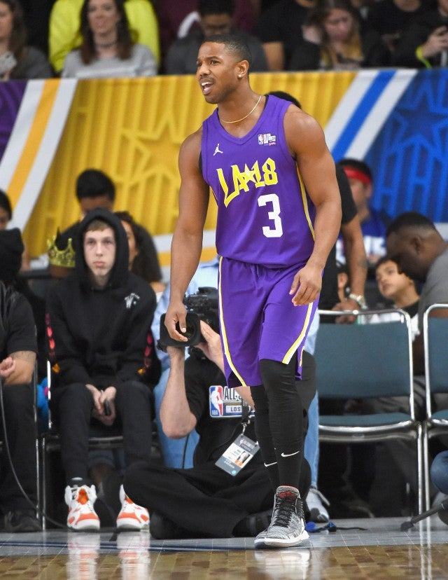 MIchael B Jordan NBA All Star Game