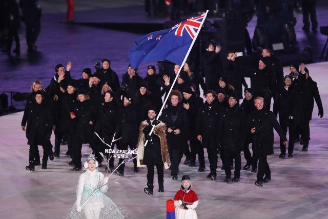 New Zealand winter olympics 2018