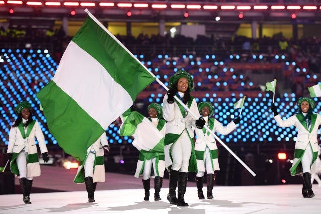 Nigeria Winter Olympics 2018