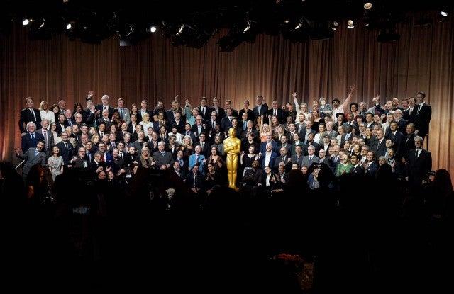 2018 Academy Awards Nominee Oscar Luncheon Group Photo