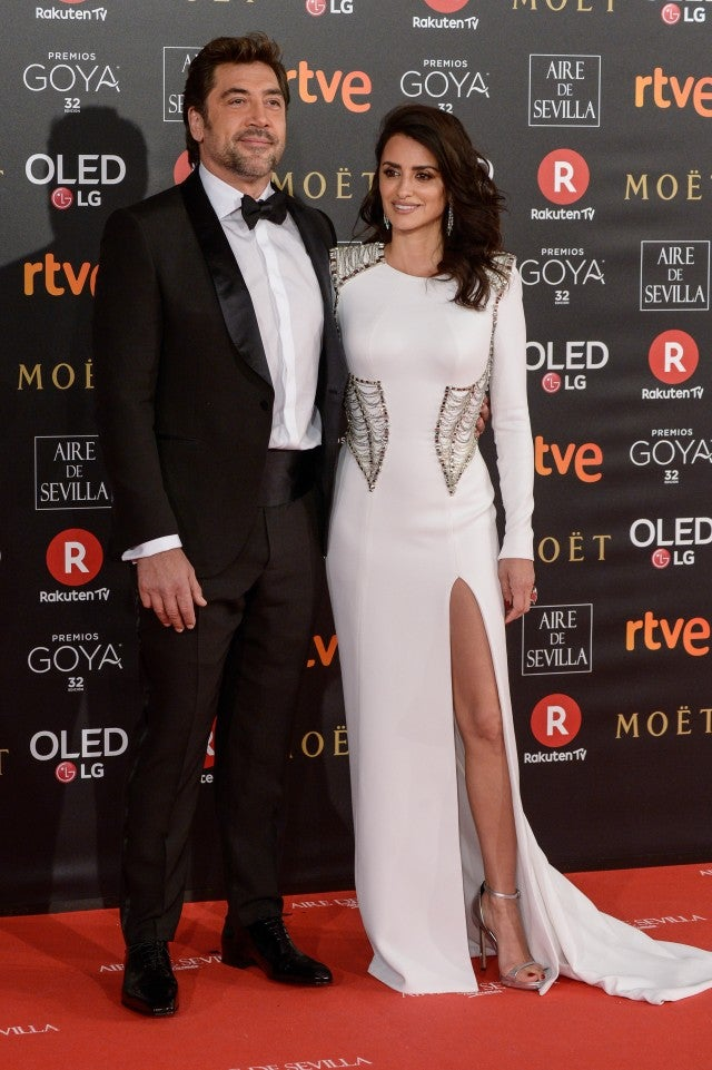 Javier Bardem and Penelope Cruz attends Goya Cinema Awards 2018