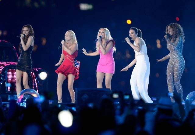 Spice Girls 2012 Olympics