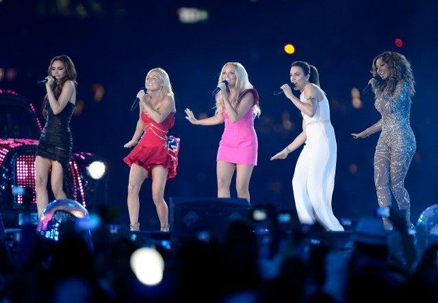 Spice Girls 2012 Olympics