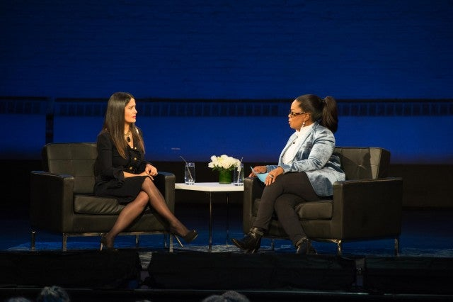 Salma Hayek gives Oprah new horrifying details about Harvey Weinstein's behavior