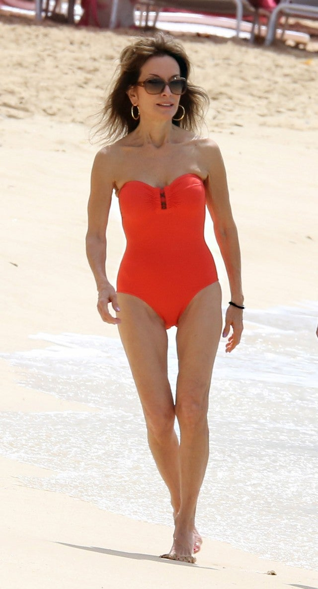 Susan Lucci 71 Stuns In Red Swimsuit Pic