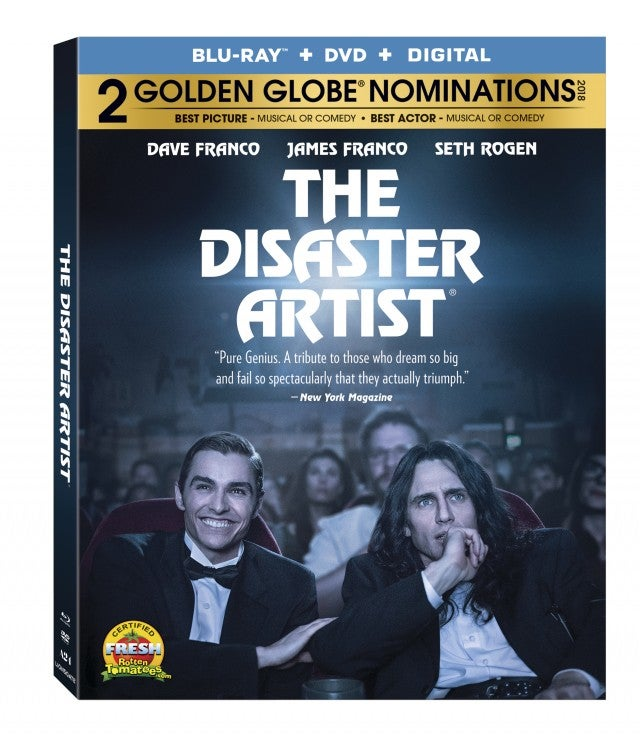 The Disaster Artist DVD Artwork