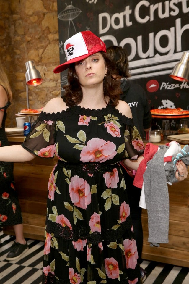 Rachel Bloom at Pizza hut Lounge at sxsw
