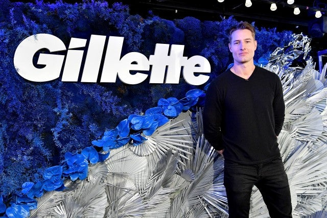Justin Hartley at gilette event