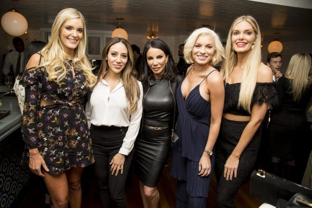 Real Housewives stars at FabFitFun event