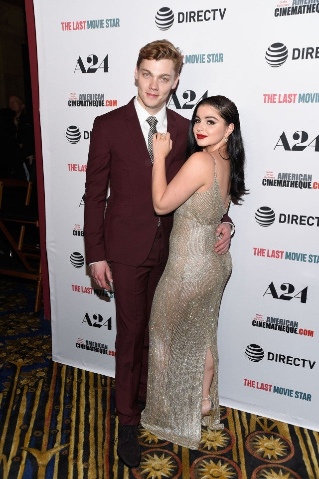 Levi Meaden and Ariel Winter