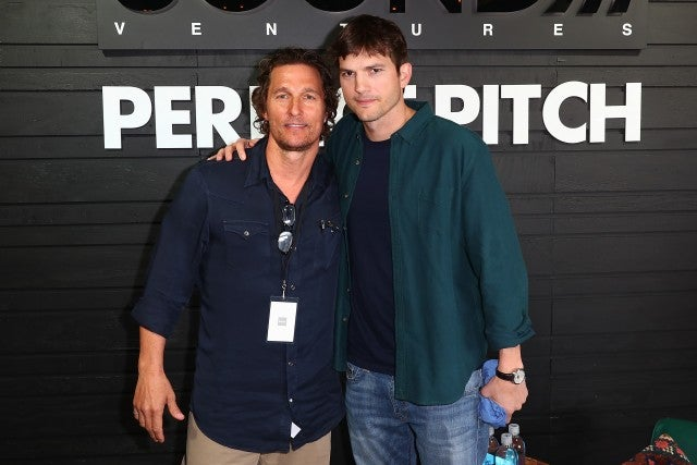 Ashton Kutcher and Matthew McConaughey