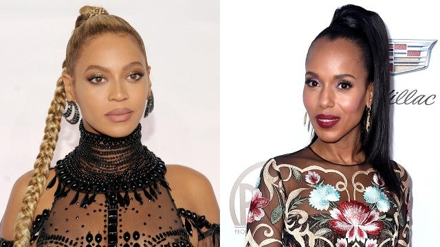 Beyonce and Kerry Washington