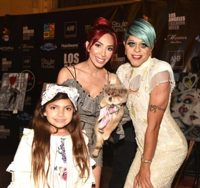 Farrah Abraham daughter Sophia and SHam Ibrahim