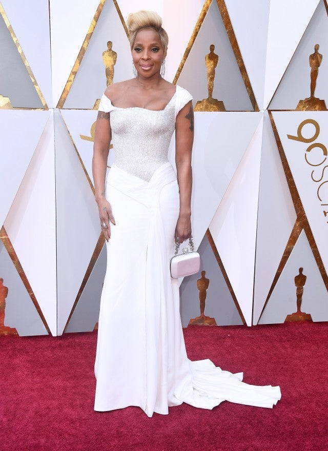 Mary J Blige at 2018 Oscars