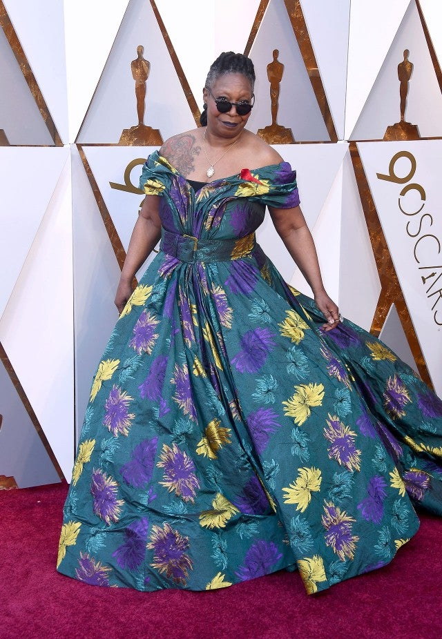 Whoopi Goldberg at 2018 Oscars