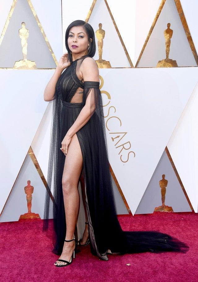 Taraji P Henson At  Oscars