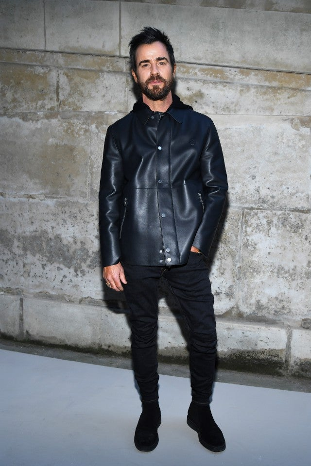 Justin Theroux PFW
