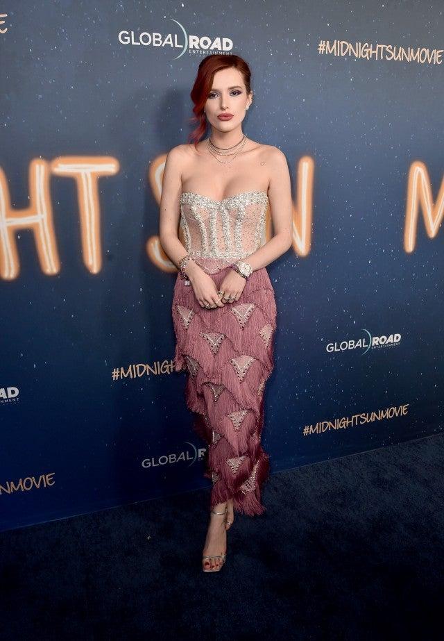 Bella Thorne at Midnight Sun premiere