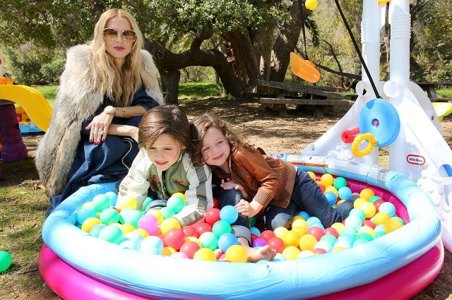 Rachel Zoe and son bday party