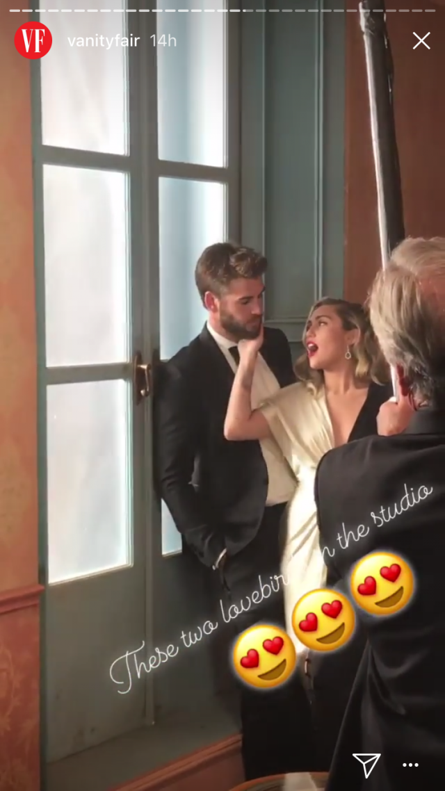 Miley Cyrus And Liam Hemsworth Are Beyond Adorable At