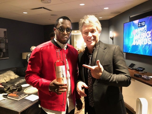 Diddy and Jon Bon Jovi