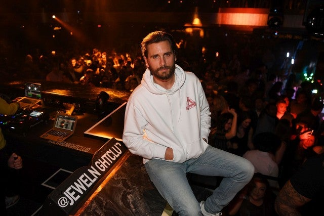 Scott Disick at jewel nightclub