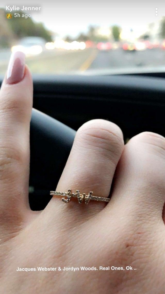 Kylie Jenner ring