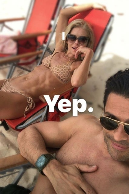 Mark Consuelos Kelly Ripa