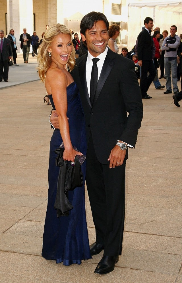 Kelly Ripa Mark Consuelos 2009