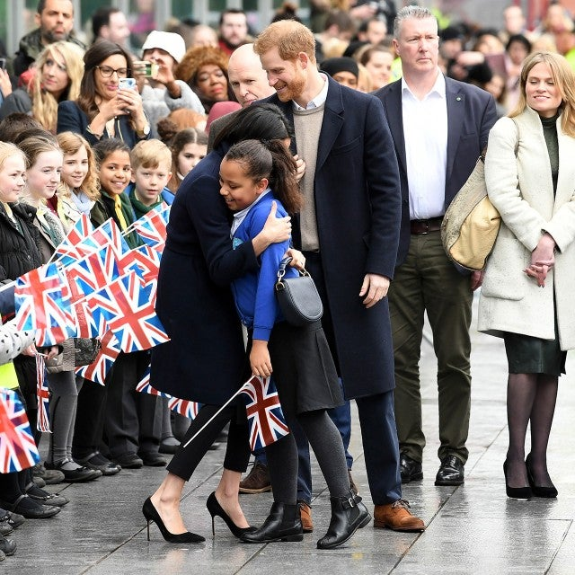 Meghan Markle Hugged A 10-Year-Old Aspiring Actress