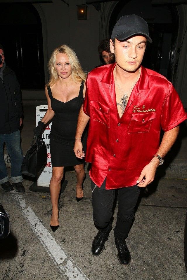 Pamela Anderson and Brandon Lee