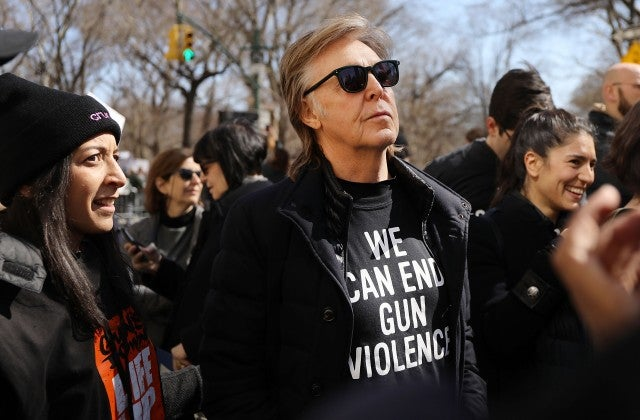Paul Mccartney March for our lives