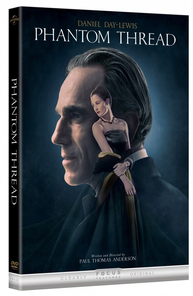 Phantom Thread DVD Artwork