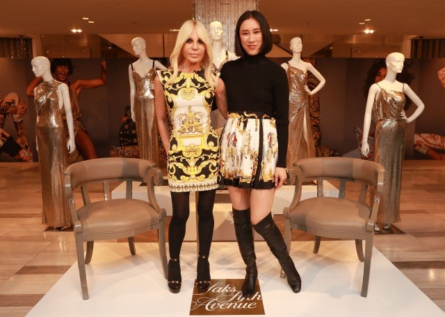 Dontalla Versace and Eva Chen