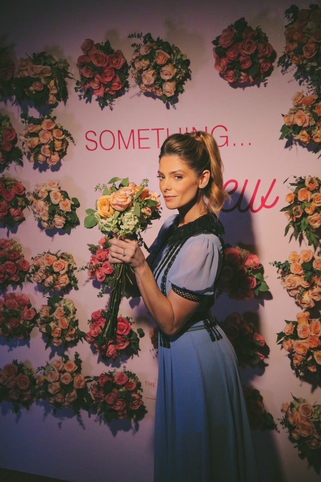Ashley Greene at shutterfly wedding event