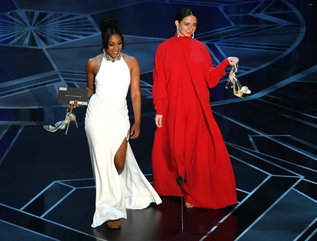 Tiffany Haddish and Maya Rudolph Oscars
