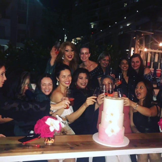 Adriana Lima celebrates her assistant's birthday