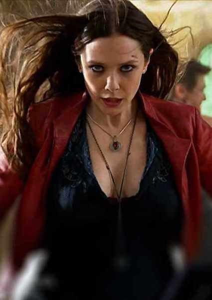 Elizabeth olsen says she 39 d prefer a more modest 39 avengers - Scarlet witch boobs ...
