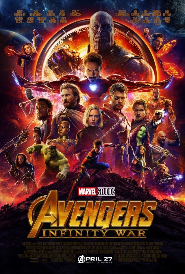 Avengers: Infinity War Artwork