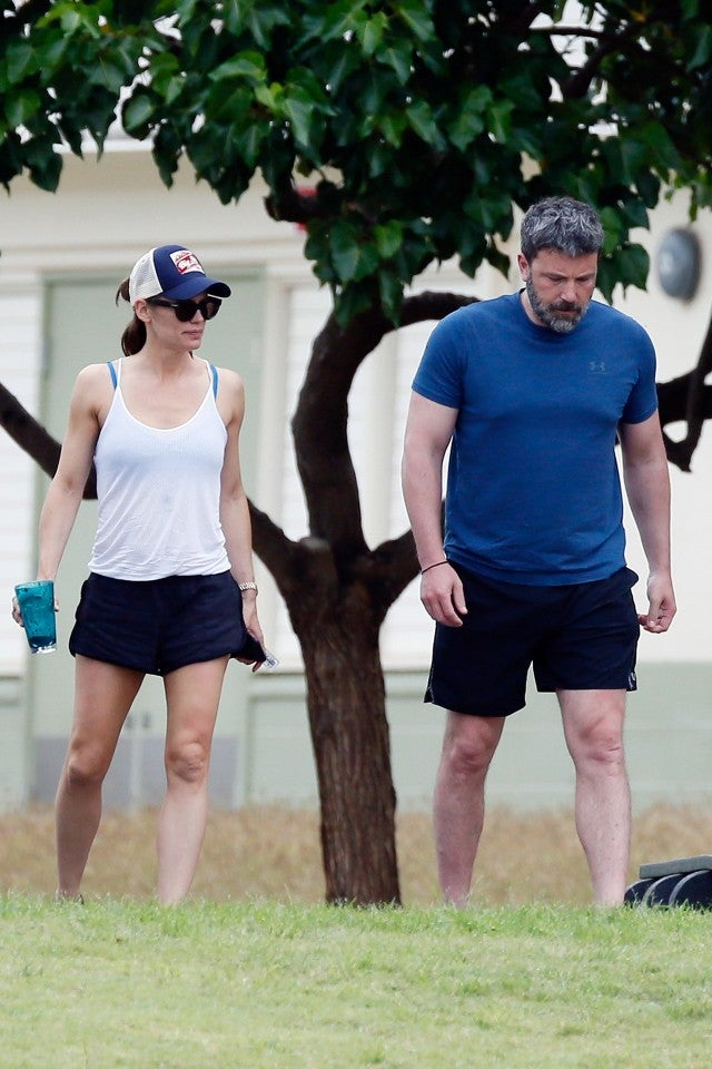 ben affleck jennifer garner hawaii 2018