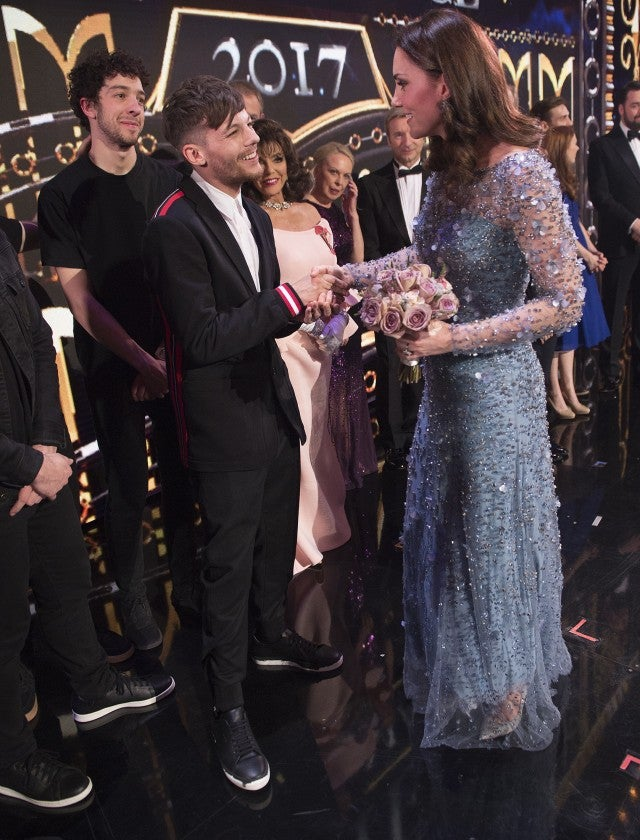 Louis Tomlinson Kate Middleton