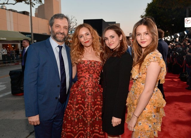 The Apatow family at the 'Blockers' premiere on April 3, 2018.
