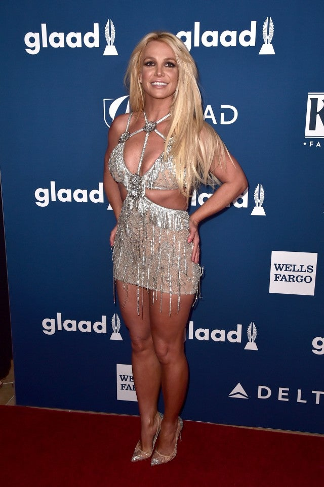 Britney Spears at the GLAAD Media Awards
