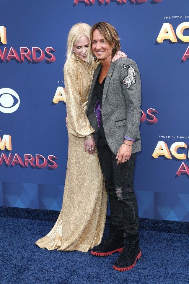 Keith urban and Nicole Kidman ACM Awards